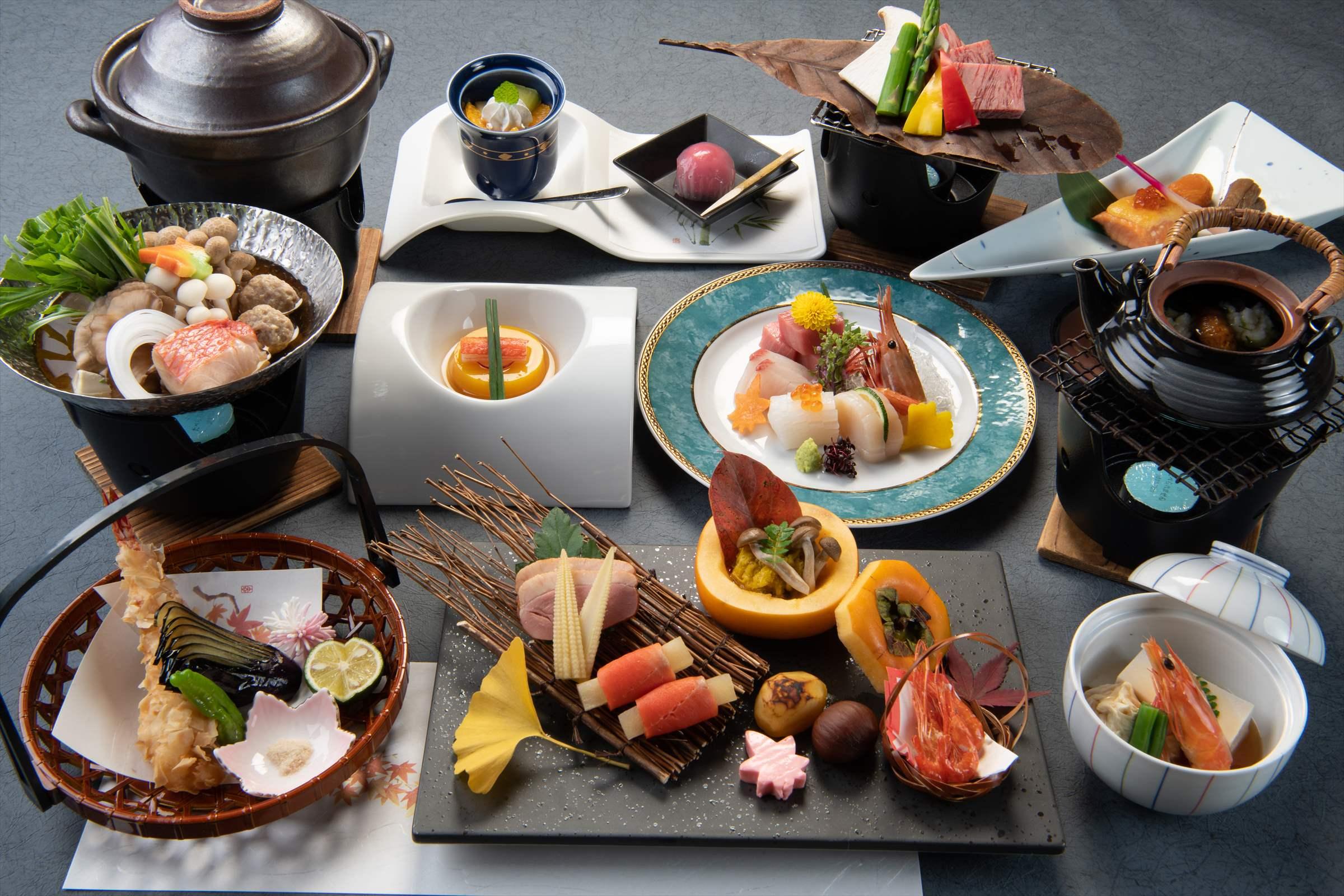 12,000円(税込13,200円)のお料理