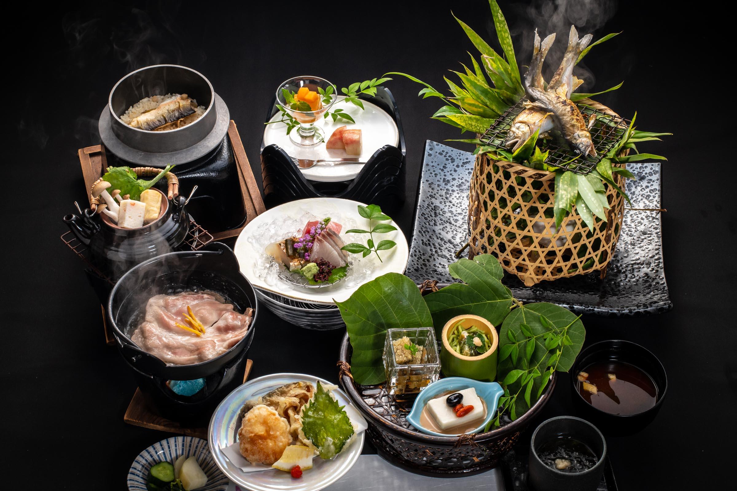 8,800円(税別)のお料理