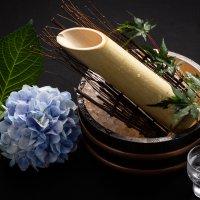 竹筒酒(冷酒1合) 1,320円 (税別)