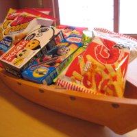 お菓子の舟盛り 1,650円(税別)