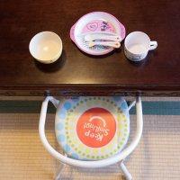 ピーピー椅子の貸出&お子様用お取り皿
